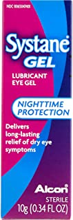 Systane Gel Nighttime Protection Lubricant Eye Gel 10 g (2 pack)