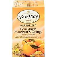 Twinings 6 Pack Mandarin and Orange Honey Bush 1.41 oz. Unwind Herbal Tea