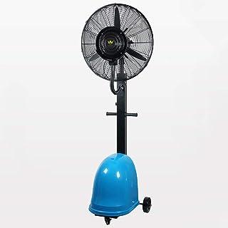 3 engranajes Ventilador de fábrica Ventilador industrial Ventilador de refrigeración grande Atomizador de polvo de fábrica Humidificador Ventilador de piso Swing Spray Store para vivienda comercial