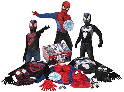 Imagine by Rubie's Amazon Exclusive 19-Piece Spider-Man Dress-Up Trunk, Small