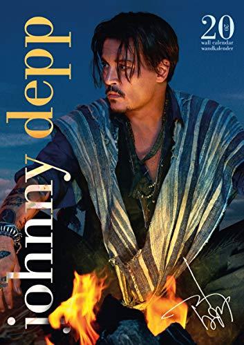 Johnny Depp 2020 Calendrier