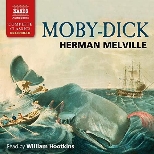 Moby Dick Audiobook By Herman Melville cover art
