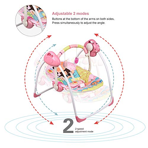 51j8++S7NNL Best Soothing Baby Swing for Baby That Likes to Be Held 2021