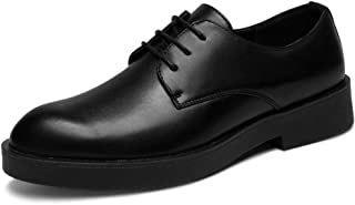 2019 Mens New Lace-up Flats Men's Casual Classic Simple Business Style Fashion Oxford Outsole Lace Up Formal Shoes