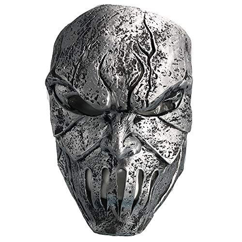 Halloween Mask,Creep Mask Costumes for Men, Scary Masks for Adults Realistic Kids Horror Monster Deluxe Evil Devil Sliver