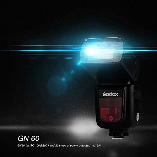 Godox Ving V860IIN 2.4G GN60 I-TTL HSS 1/8000s Li-ion Battery Camera Flash Speedlite 1.5S Recycle Time 650 Ful Power Pops Supports TTL/M/Multi/S1/S2 for Nikon DSLR Cameras