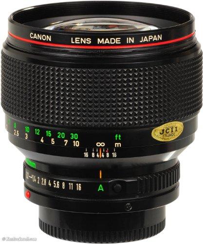 Canon 85mm f1.2 L FD