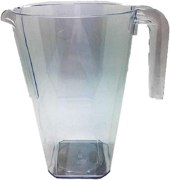 Essential Housewares PLJUC12 Jarra desechable transparente de 1,2 l, 1 paquete, plástico