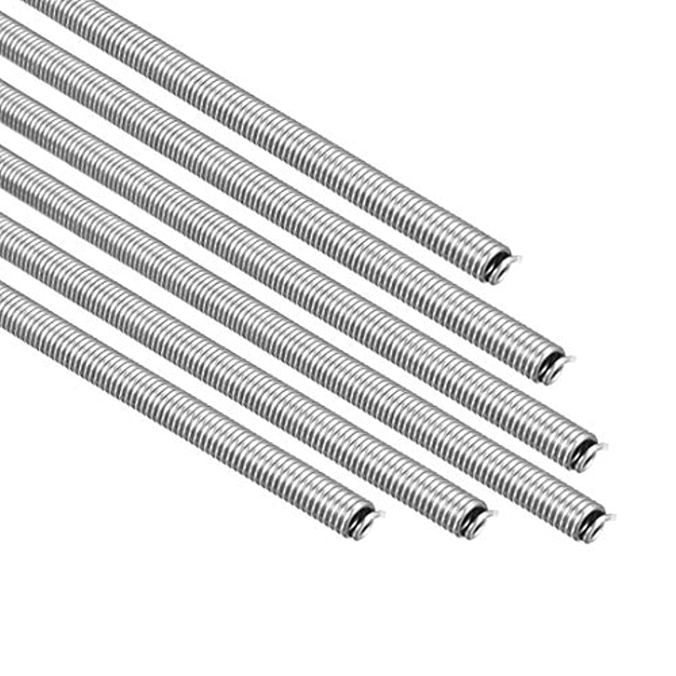 uxcell Heating Element Coil Wire AC220V 3000W / AC110V 750W Kiln Furnace Heater Wire 7.2mm800mm 6PCS