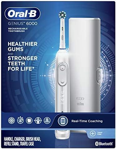 Oral-B Genius 6000 Electric Toothbrush, Black