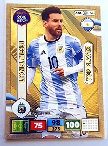 Road to 2018 FIFA World Cup Russland Adrenalyn XL – Lionel Messi Top Player Karte