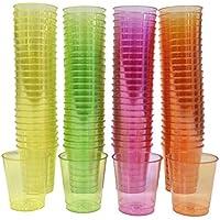 72 plástico desechable Copa de fiesta de color, Copa esencial para todas las partes