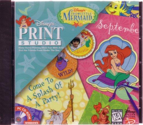 The Little Mermaid Print Studio
