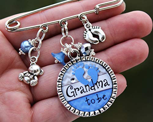 Personalized Grandma to be or title of your choice Mom Aunt Nana Noni Gigi to be Baby shower kilt Pin It