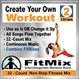 Create Your Own Workout Vol.2 - Top New Music Re-Mix for Group Fitness, Aerobic Exercise, Running, Cycling, Cardio. (Non-Stop)