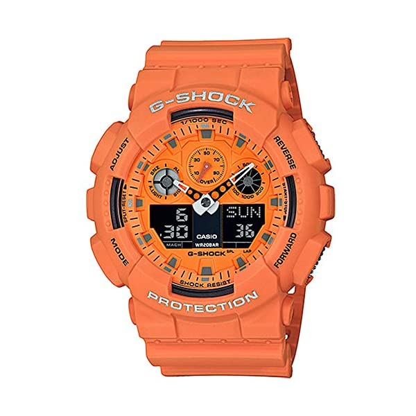 Casio G-Shock GA100RS-4A 1