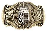 Veri Salzburger Wappen Buckles Trachten Gürtelschnalle Trachtengürtel Österreich Schnalle zum Wechseln one size cm :