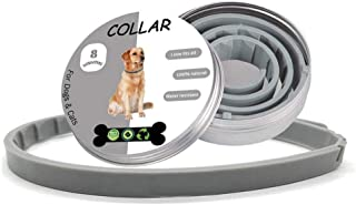 Adjustable Pet Collar Anti Flea & Tick Mite Louse Remedy Neck Ring for Cat,Pet Quick and Long Lasting Protection Flea Control Collar