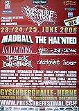 Pressure Festival Herne 2006 Konzert-Poster A1