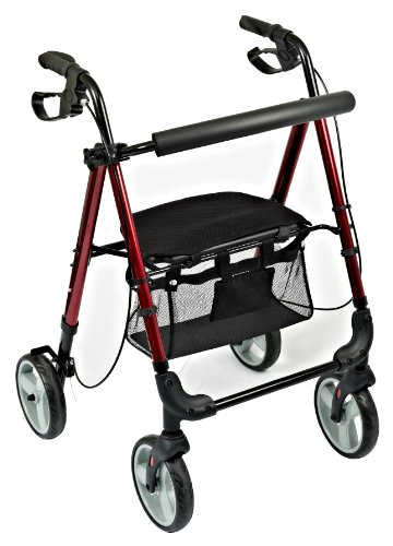 NRS Healthcare M87719 Leichter Trolley mit 4 Rädern