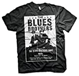Officially Licensed The Blues Brothers Poster Mens T-Shirt (Black), Medium