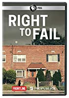 Frontline: Right to Fail [DVD] [Import]