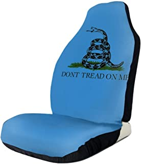 WUZZZZ Don't Tread On Me Gadsden Flag Car Seat Covers Protectors Universal Car Seat Accessories