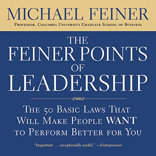 『The Feiner Points of Leadership』のカバーアート