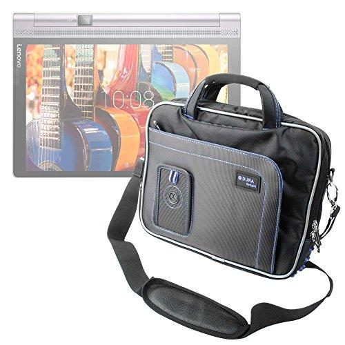 DURAGADGET Maletín con Diseño Innovador para Tablet Lenovo Yoga Tab3 Plus - En Color Negro Y Azul