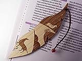Segnalibro in legno personalizzato, il sogno del cavallo,...