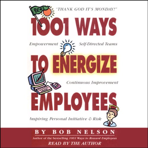 1001 Ways to Energize Employees cover art