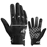 INBIKE Mountain Bike Gloves for Dirt Bike Motorcycle Cycling with 5MM...