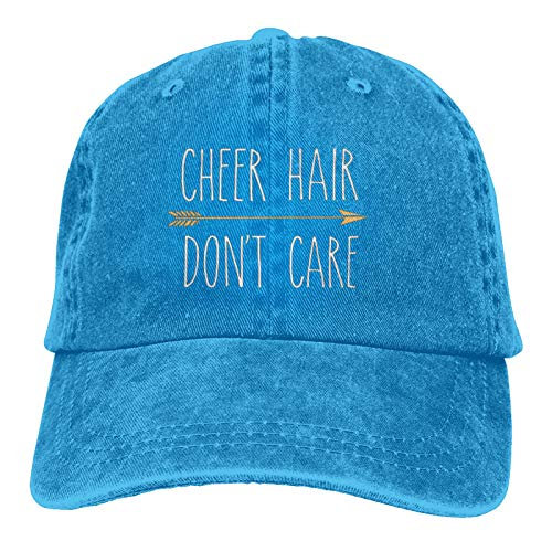 Jopath Cheer Hair Unity Unisex Soft Casquette Cap Vintage verstellbare Retro-Hüte Baseball Caps