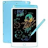 SCRIMEMO LCD Schreibtafel 8,5 Zoll Bunte hellere Schrift, LCD Writing Tablet Schreibtafel für Kinder, Stift Papierlos für Schreiben Malen Notizen Super als...