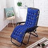 Ssskl 48x170cm sillón reclinable cojín de Respaldo Suave cojín Mecedora cojín de Banco reclinable cojín de Silla de jardín-3_48x125cm 1 Pieza