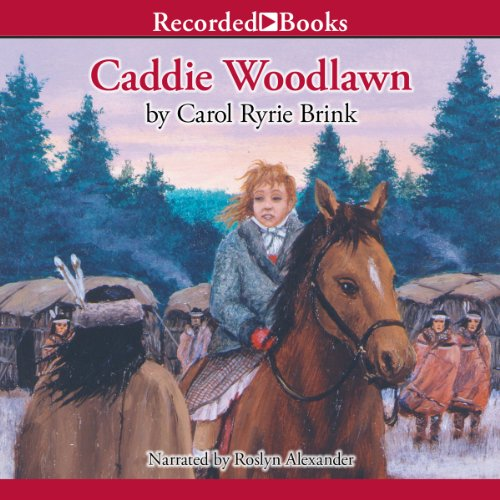 Caddie Woodlawn audiobook cover art