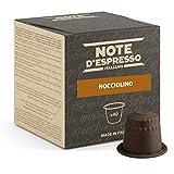 Note d'Espresso Italiano - Cápsulas de Bebida Instantánea de Avellana, 40 unidades de 7g, Total: 280 g