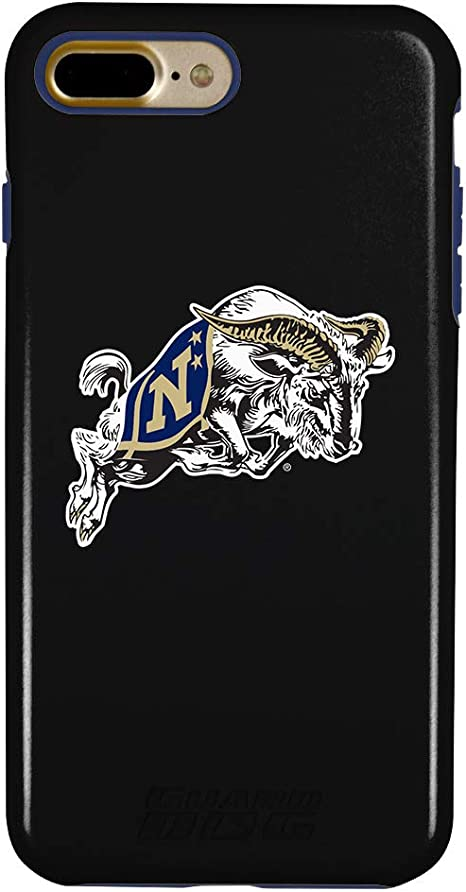 Guard Dog Navy Midshipmen Clear Hybrid Case for iPhone 7 Plus//8 Plus