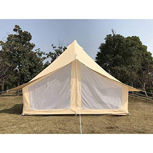 ZAOYUE Carpa para Lona de algodón Impermeable Camping Campamento Tienda de campaña...