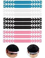 TOYMIS 10 stuks voor Maskervergroter, Verstelbare Riemverlenging Oorkapverlenging Gesphaak voor Masker (4 Kleuren)