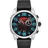 【ディーゼル スマートウォッチ腕時計】Diesel Touchscreen Smartwatch Full Guard 2.5 Black Leather DZT2008 [並行輸入品]