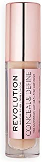 Makeup Revolution Conceal And Define Concealer, C7 Brown, 3.4 ml