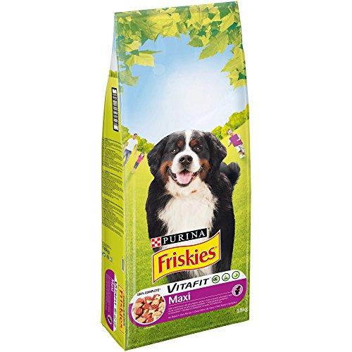 professionnel comparateur Friskies Vitafit Maxi: Boeuf – 18 kg – Croquettes pour chiens adultes de plus de 25 kg choix