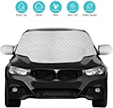 Best Car Covers - QcoQce Car Windshield Cover, Magnetic Snow Cover, Windscreen Review