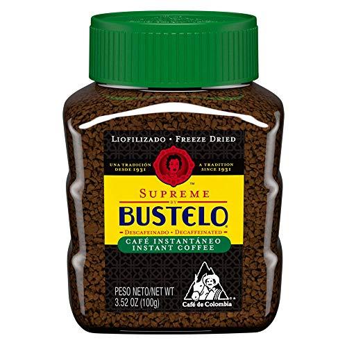 Bustelo Instant Freeze Dried Decaffeinated Coffee 3.5 oz