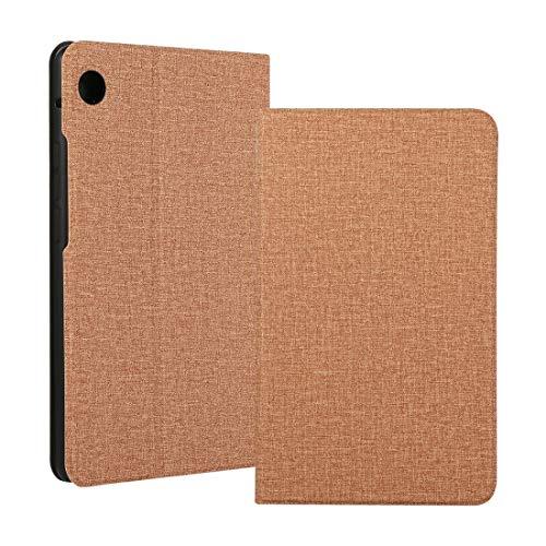XHEVAT Funda para tablet Huawei MatePad T8 / C3 de 8 pulgadas con voltaje, tela de TPU, horizontal, con soporte, color dorado
