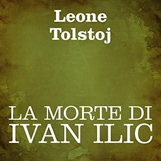 La morte di Ivan Ilic copertina