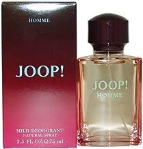 Joop Homme By Joop For Men. Mild Deodorant Spray 2.5 Oz.