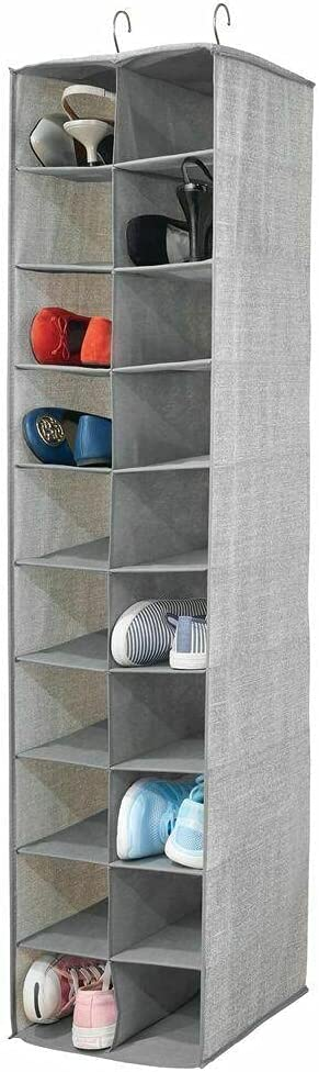 Large 20 Shelf Recommendation Fabric Over Rod Unit Closet Hanging Animer and price revision - Gra Storage