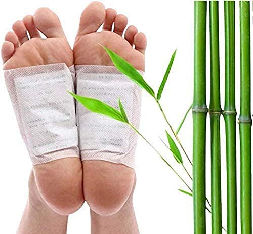 Detox Foot Patches, 50 Pieces Foot Patches, Detoxification, Relieve Pain and Improve Sleep, Promote Blood Circulation and Relieve Fatigue (Send 50 Pieces)